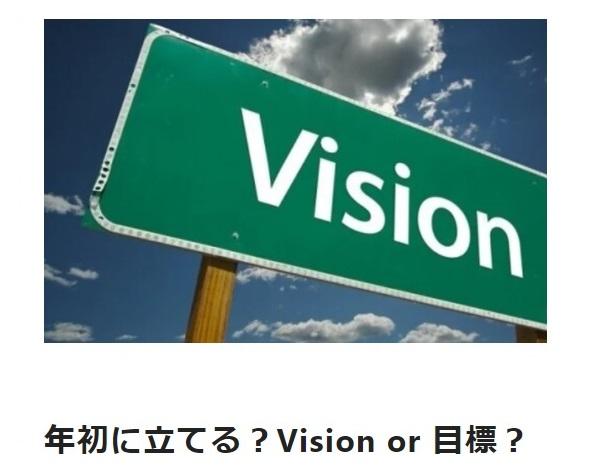 岡田美紀子 note記事:年初に立てる?Vision or 目標?